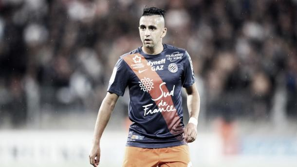Boudebouz was one of the few shining lights for Montpellier last season. (Photo: Eurosport)