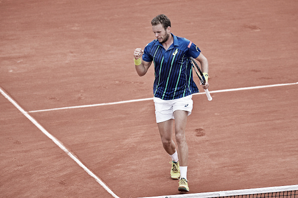Mathias Bourgue showed no fear of world number two Andy Murray at the 2016 French Open. (Photo: Getty Images)