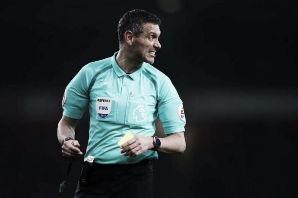 Andre Marriner, el árbitro del partido. Foto: Bournemouth Sitio Oficial.