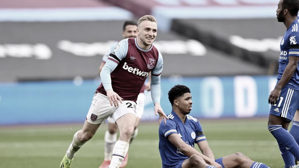 Bowen lograba el tercero./ Foto: Premier League