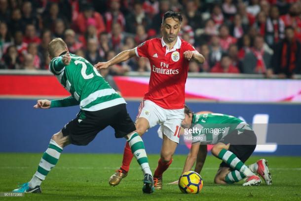 Jonas, máximo goleador del Benfica / Foto: gettyimages
