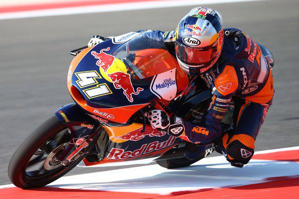 Brad Binder riding great at the Red Bull Ring - www..sedibengster.com