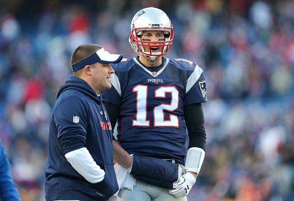 Brady e McDaniels (Foto: Maddie Meyer/Getty Images)