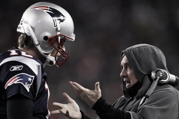 En la Super Bowl XLVI, Brady y Belichick no la pasaron bien ante los Giants. Foto: NFL