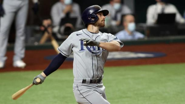 Lowe was the Rays' offensive star in Game 2/Photo: