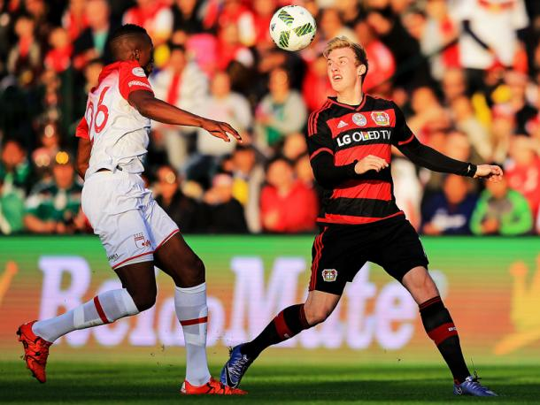 Will Julian Brandt be the key to a Leverkusen victory? | Image Source: Kicker.