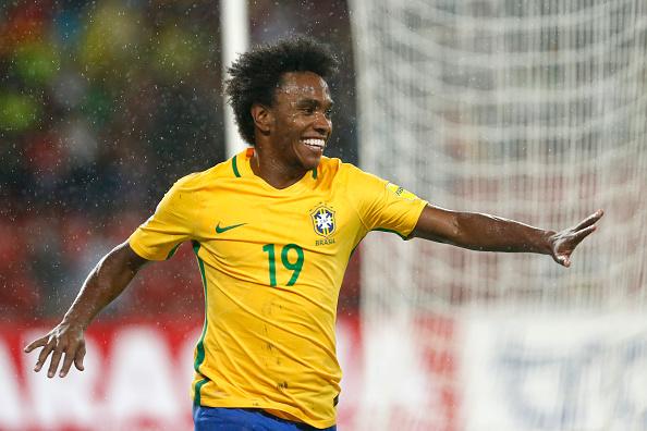 Willian será o capitão no confronto contra o Japão (Foto: Anakena/LatinContent WO)
