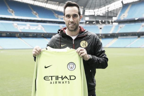 Bravo could make his City debut on Saturday | Photo: Manchester City/ Press Association