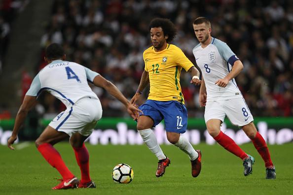 Brasil e Inglaterra não saíram do zero (Foto: Matthew Ashton - AMA/Getty Images)
