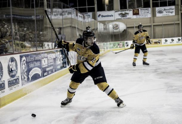 Con los Erie Otters, ha roto los registros anotadores de la OHL FotoMatt Mead/The Canadian Press