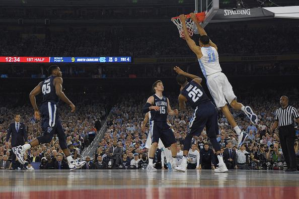 Brice Johnson won the NCAA Championship with the North Carolina Tar Heels.   Photo: Lance King/Getty Images