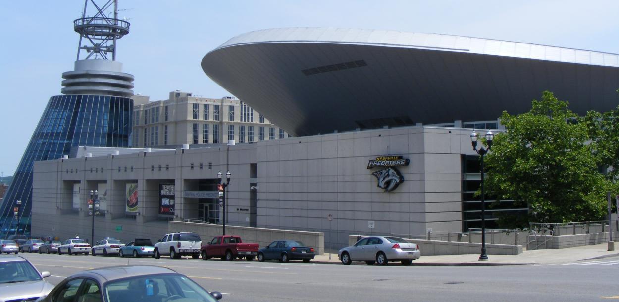 Bridgestone Arena | Foto: NHL.com