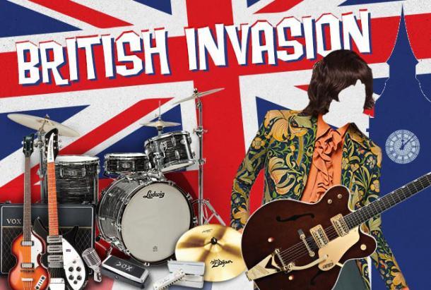 Invasión Británica de lo años 60's