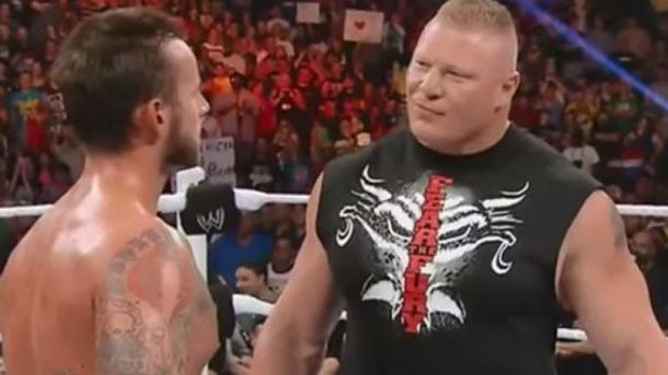 Punk and Lesnar have shown their distaste for pro wrestling over the years (image: sportsjoe)