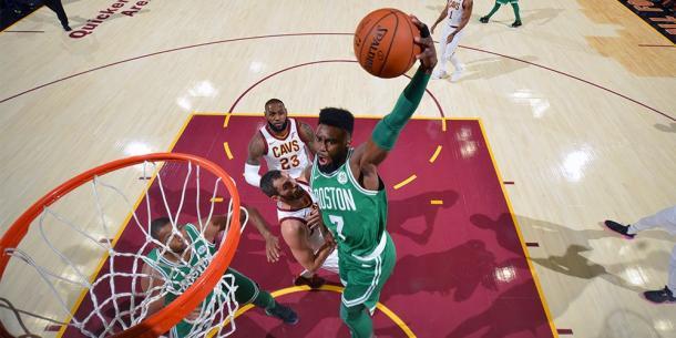 Brown al ferro - Foto Boston Celtics Twitter