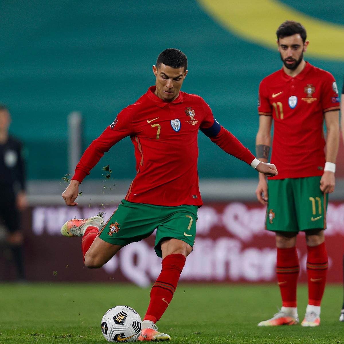 Cristiano Ronaldo y Bruno Fernandes / Foto: Portugal