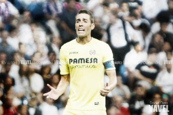Bruno, durante un encuentro en el Santiago Bernabéu | Daniel Nieto