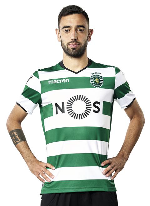 Bruno Fenandes   Fuente: sporting.cp