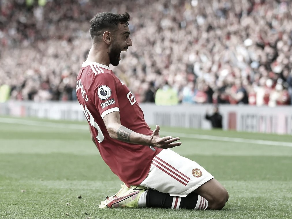 <strong><a  data-cke-saved-href='https://vavel.com/es/futbol-internacional/2021/05/25/premier-league/1072564-el-once-de-la-temporada-202021-de-la-premier-league.html' href='https://vavel.com/es/futbol-internacional/2021/05/25/premier-league/1072564-el-once-de-la-temporada-202021-de-la-premier-league.html'>Bruno Fernandes,</a></strong> siempre goleador | Foto: Premier League