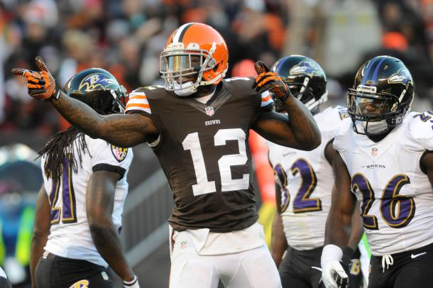 Josh Gordon could be a great asset for the Patriots | Source Ken Blaze-USA Today Sports