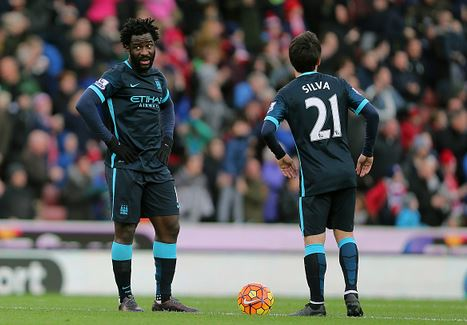 David Silva and Wilfried Bony were largely ineffective due to Stoke's efficient pressing game