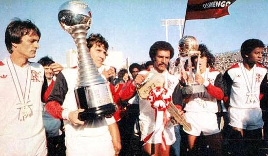 Campeão do mundo: em 1981, Flamengo alcançava sua maior glória no futebol (Foto: Divulgação/Flamengo)
