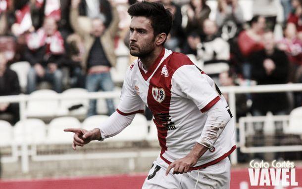 Alberto Bueno, máximo goleador del Rayo en Primera | Foto: Carla Cortés, VAVEL
