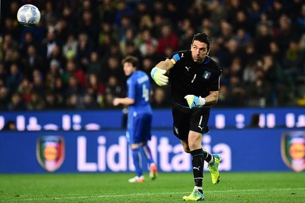 Buffon es el estandarte de esta Italia. // Foto: Getty Images