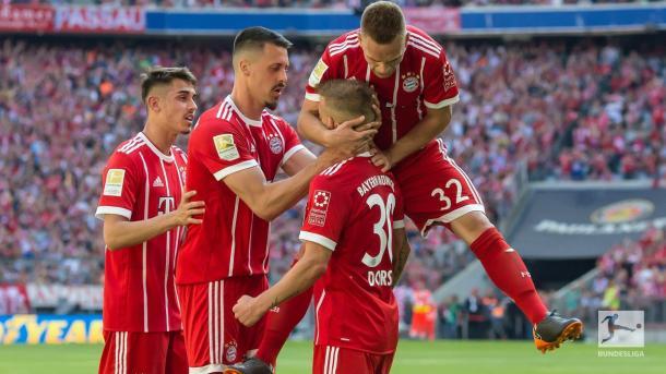 El Bayern busca el doblete domestico este sábado  | Foto: @Bundesliga_DE