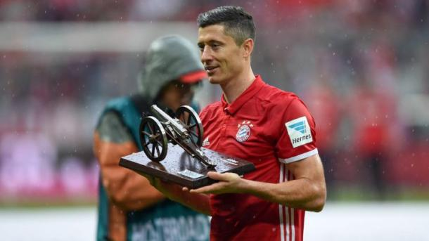Robert Lewandowski finishes as league top scorer. | Source: Bundesliga