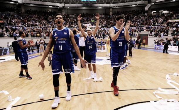 Primera victoria del Burgos, fuente: Diario de Burgos