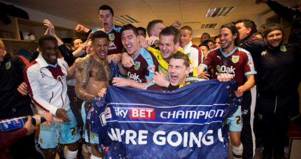 Burnley came straight back up after being relegated (photo: Sky Sports)