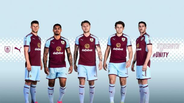 El nuevo kit del Burnley | Foto: Burnley FC