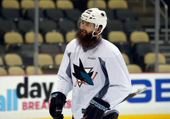 Brent Burns will lead the San Jose Sharks defense in the Stanley Cup Finals. | Photo: Justin K. Aller/Getty Images