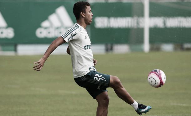 Marcos Rocha deve reforçar o Palmeiras no primeiro jogo da final do Paulistão (Foto: Cesar Greco/Ag Palmeiras/Divulgação)