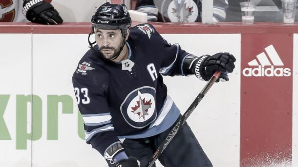 Byfuglien con los Jets | Foto:NHL.com