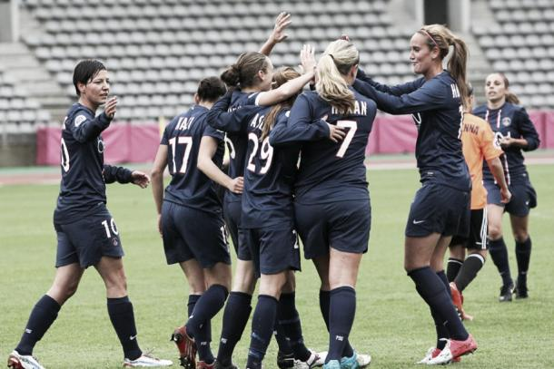 PSG celebrate. | Image source: UEFA