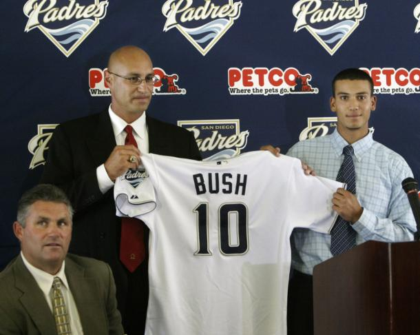 As an 18-year old no. 1 pick, life looked very promising for a young Matt Bush | USA TODAY SPORTS