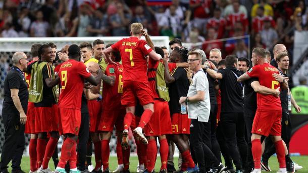 Bélgica celebró una victoria que pasara a la historia de la Copa del Mundo | Foto: FIFA