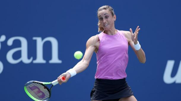 Petra Martic lost to Serena Williams in the fourth round last year | Photo: Simon Bruty