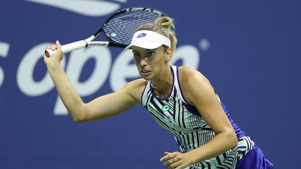 Elise Mertens burst out to a commanding 5-1 lead | Photo: Simon Bruty
