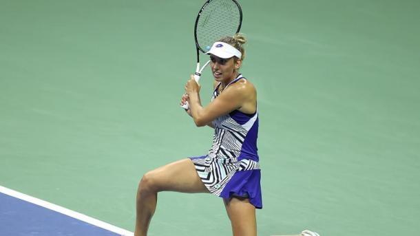 Elise Mertens was simply unstoppable, and will face Azarenka next | Photo: Simon Bruty