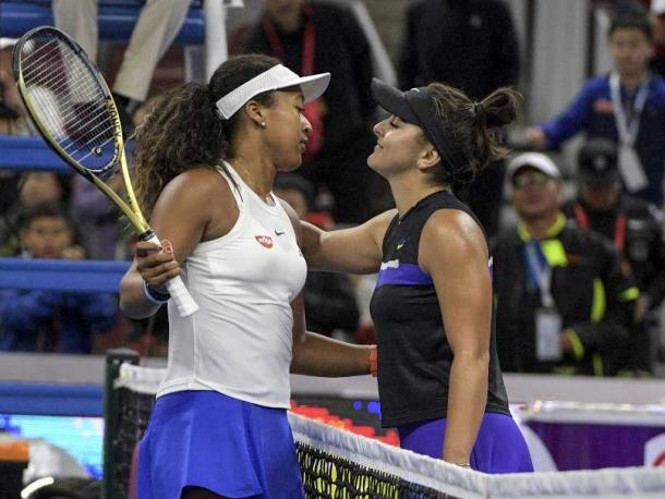 Osaka and Andreescu could form a rivalry that may very well span the next decade/Photo: AFP