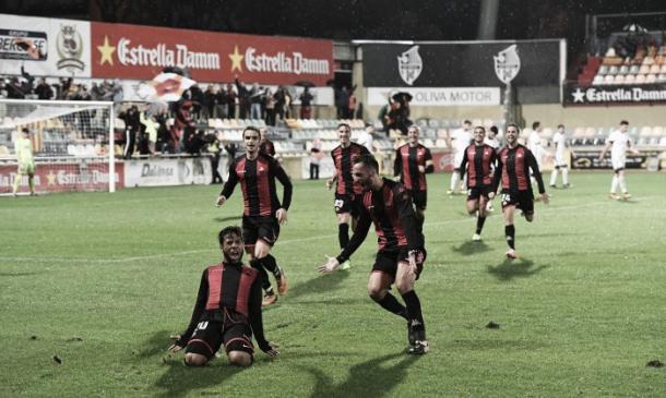Ledes celebrando un gol | Foto: CF Reus