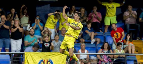 Celebración de un gol | Foto: Villarreal CF