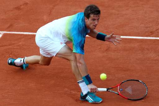 Bedene was competing in the third round of a Grand Slam for the first time. Photo: Getty