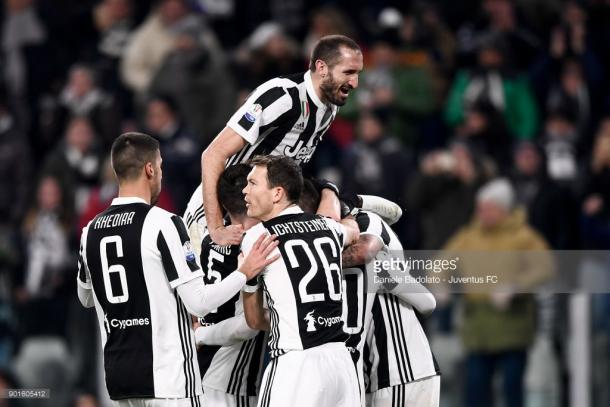 La Juventus venció este miércoles al Torino por 2-0 / Foto: gettyimages