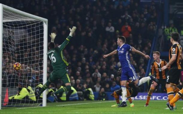Il goal di Cahill, www.telegraph.co.uk