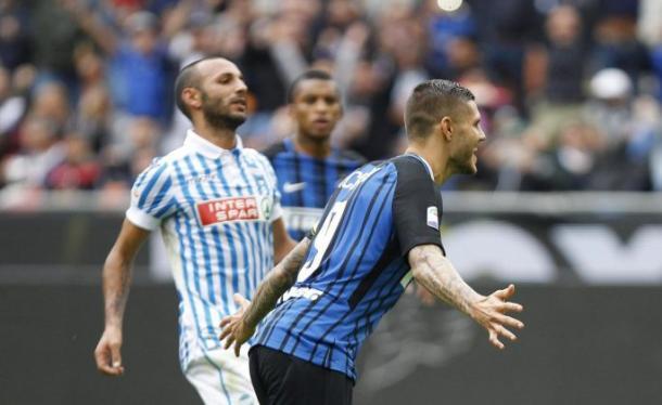 Icardi a un passo dalla storia dell'Inter