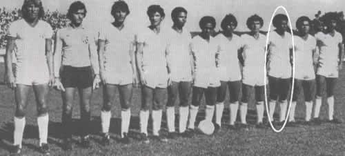 Autor do primeiro gol em destaque no canto Foto: Arquivo de Imagens Caldense
